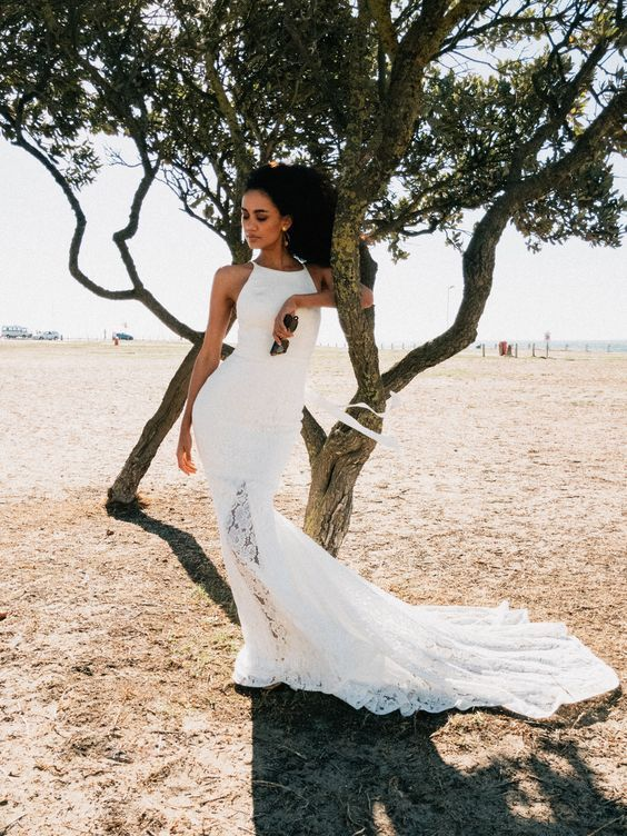 Simple Wedding Dress Fitted Wedding Dress Wedding Dresses Simple Dresses