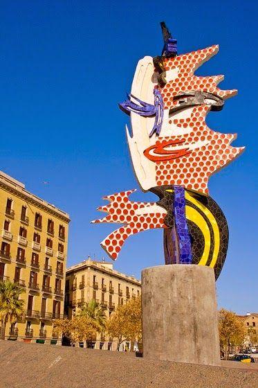 Roy Lichtenstein sculptures http://designmuitomais.blogspot.com.br/2015/01/esculturas-de-roy-lichtenstein-com-video.html