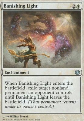 Banishing Light Journey Into Nyx Magic The Gathering The