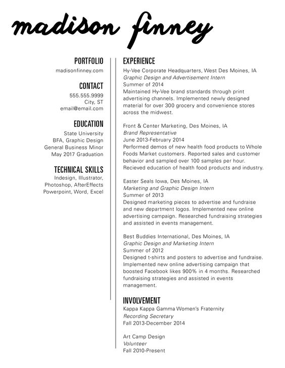 new resume graphicdesign design graphic resume typography internship graphic design intern resume