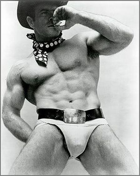 Vintage cowboy gay porn