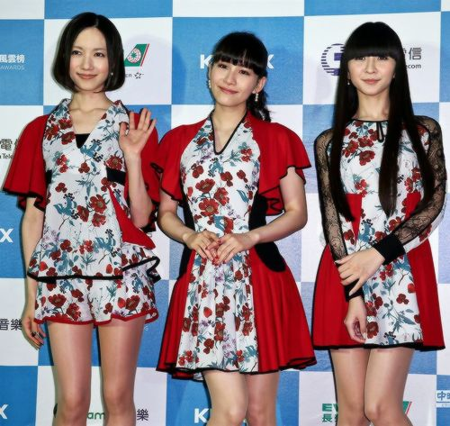 Perfume at The 9th KKBOX Music Awards