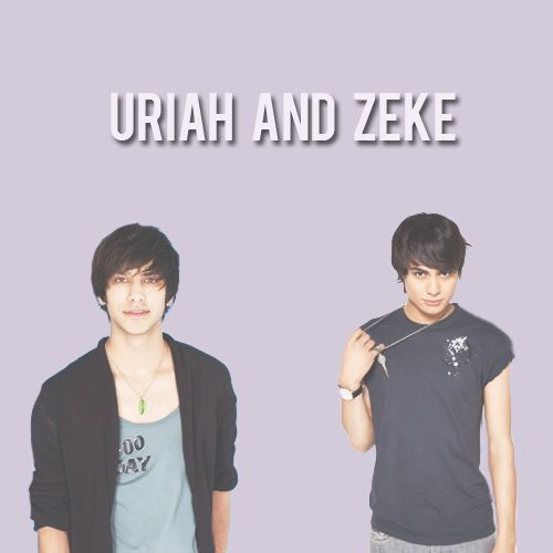 Divergent, def can see them as Uriah and zeke | New found ...