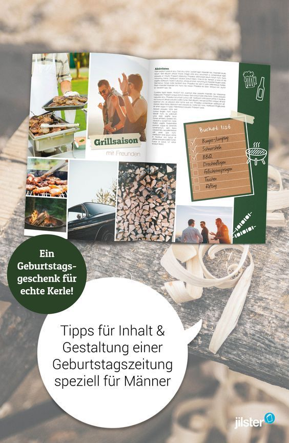 Geburtstagszeitung Fur Den Mann Gestalten So Geht S Jilster