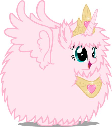 Photo of princess fluffle puff for fans of My Little Pony Friendship is Magic.