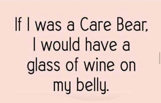 If I was a carebear... #wine #winelover #wineglasswriter