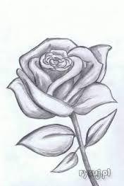 Image Result For Latwe Rysunki Do Narysowania Olowkiem Kwiaty Flower Drawing Flower Sketches Roses Drawing