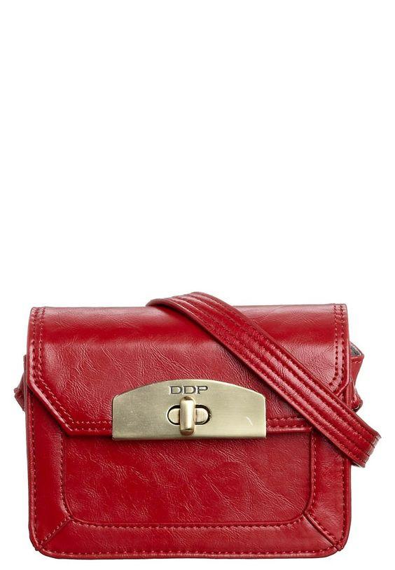 VINTAGE - Handtasche - red