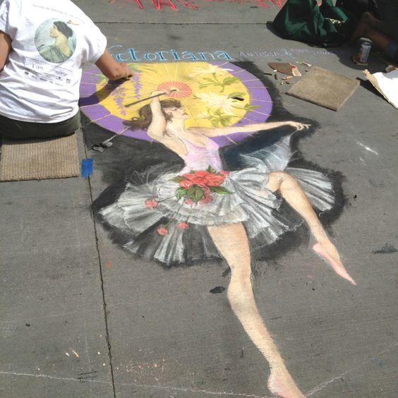 Colorado Convention Center With Lawrence Argent Sculpture: Denver Chalk Festival
