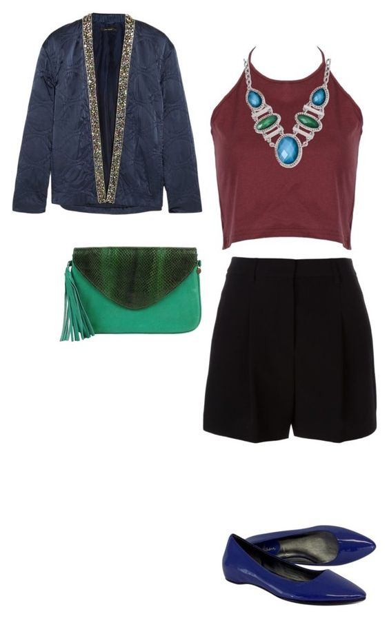 """""""night"""" by veronika-amirova ❤ liked on Polyvore featuring Isabel Marant, DKNY, Cole Haan and Cocobelle"""