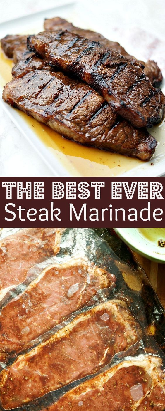 The Best Steak Marinade Recipe Steak Marinade Best Steak Marinade Easy Steak Marinade Recipes