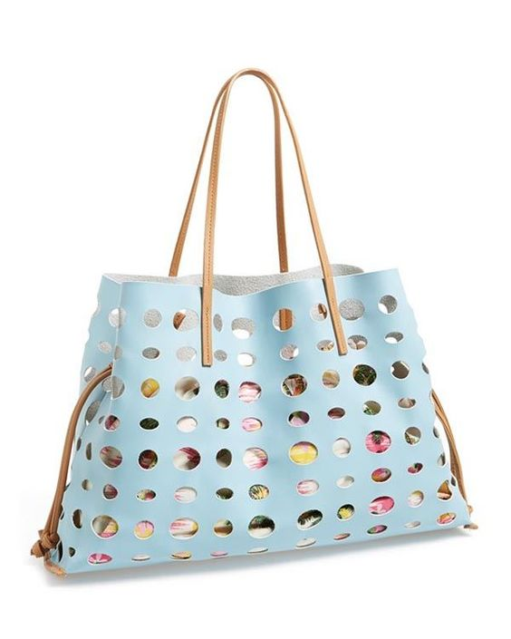 Poverty Flats by Rian Perforated Tote