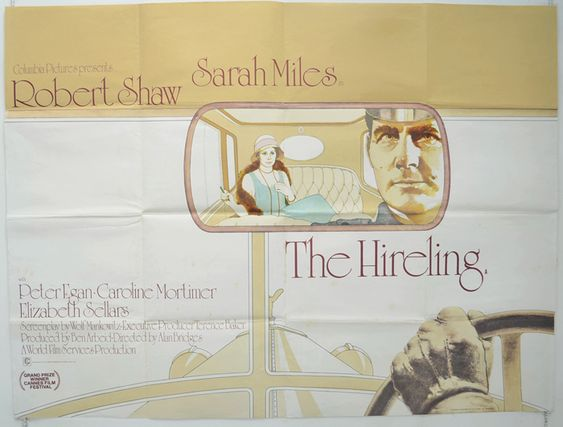Image result for the hireling film poster UK
