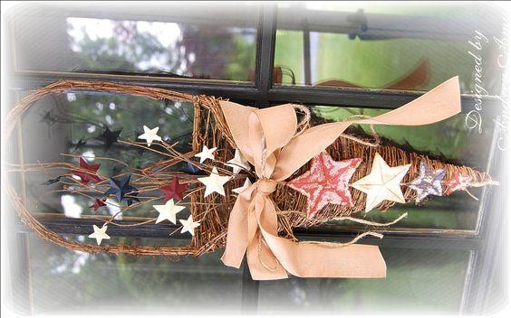 DIY Star Spangled Door Decor!