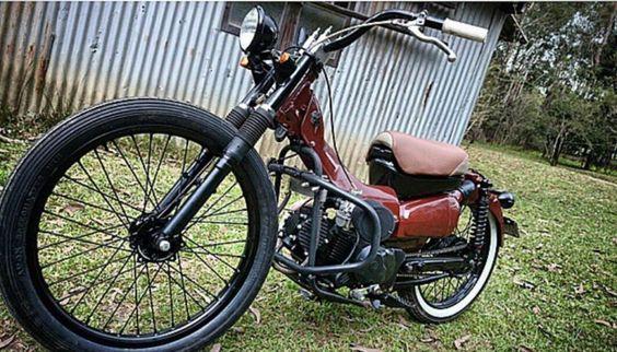 Ct110 Postie Bike Bobber Custom Ratrod Lowrider Cafe Racer
