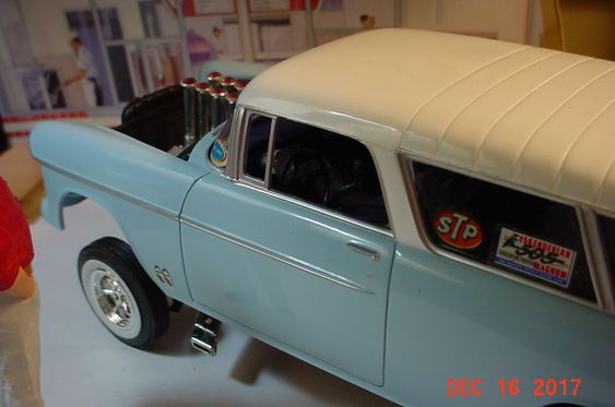 1955 Chevy Nomad Gasser Need to get some better lighting for pictures