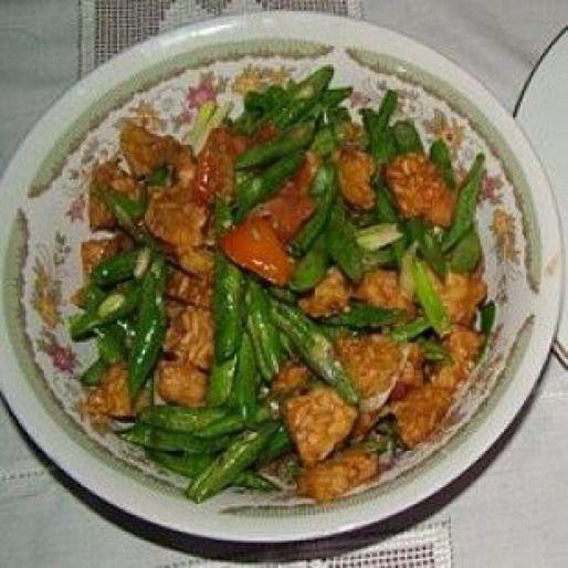 Resep Sambal Goreng Buncis Dietplan Vegetarian Cuisine Healthy Vegetables Vegetarian Recipes