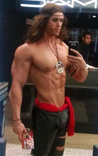 Tarzan, Conan, Pirate?  http://builtlbytallsteve.blogspot.com