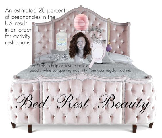 """""""Bed Rest Essentials to Help Achieve Effortless Beauty."""" by talecia-bell on Polyvore featuring beauty, Haute House, Eos, Trish McEvoy, Forever 21 and BERRICLE"""