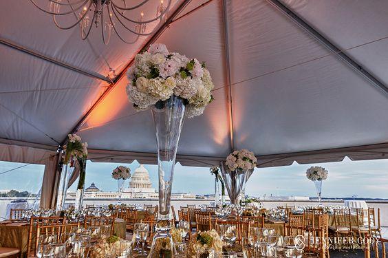 Charlie Palmer Steak Dc Wedding On The Roof On Capitol Hill Rooftop Wedding Wedding Dc Weddings