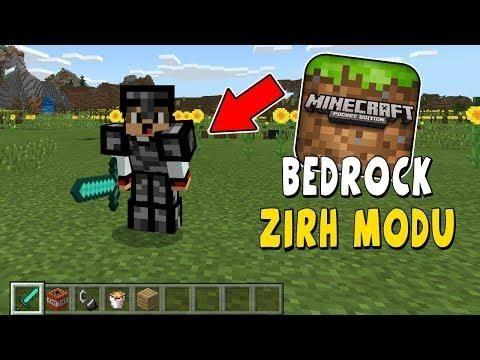 Bedrock Zirh Seti Modu Mcpe Minecraft Android Ios Indir Minecraft Minecraft Mods Bedrock
