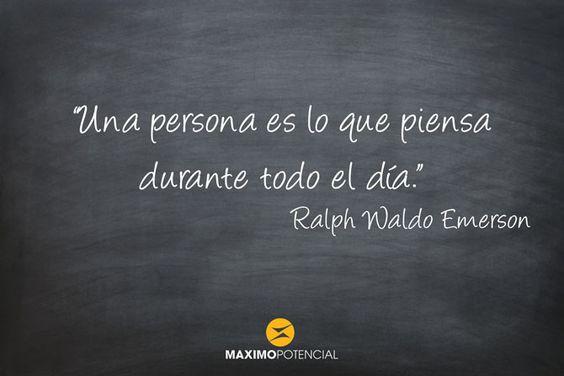 Ralph Waldo Emerson Archives - MaximoPotencial Citas
