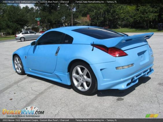 2003 Nissan 350Z Enthusiast Coupe Custom Blue Pearl
