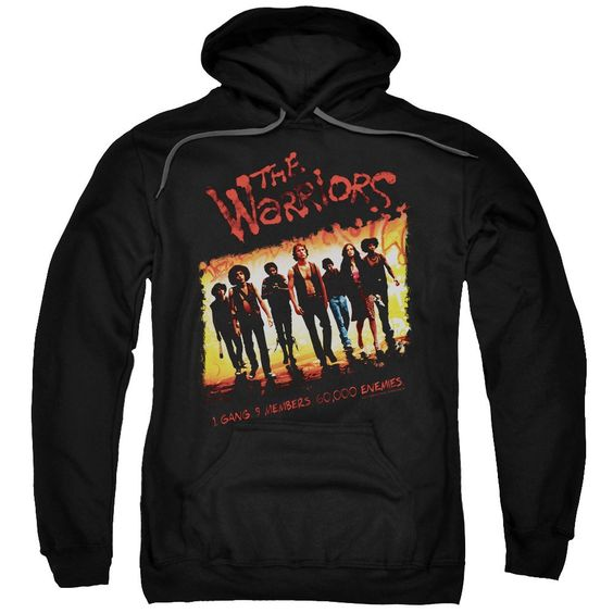 Warriors - One Gang Adult Pull-Over Hoodie