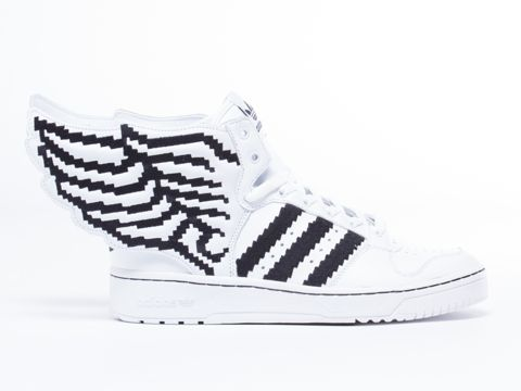 ee9f5a779197c4 Adidas Shoes Wings White ADIDAS JS WINGS PIXEL MENS SNEAKERS Synthetic  Authentic Brand New Durable Original See more about Jeremy scott