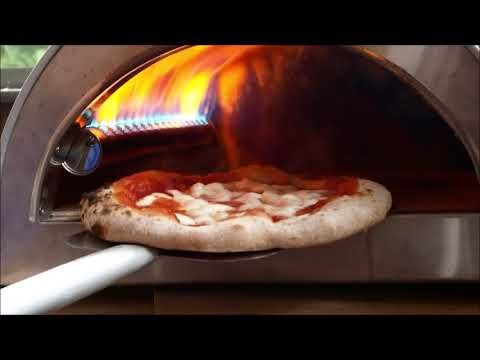 All Pizza Party Ardore Ovens Are Ideal Outdoor Gas Fired Pizza Ovens Mobile Ideal For Use On Terraces And Gardens Gas Pizza Oven Pizza Oven Fire Pizza