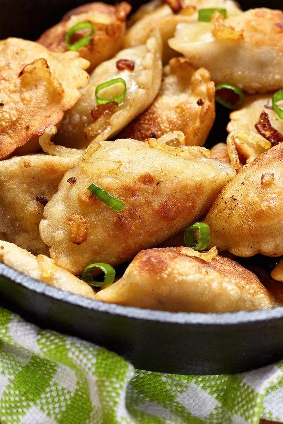 Grandma's Potato and Cheese Pierogi Recipe | Eating is Good ...