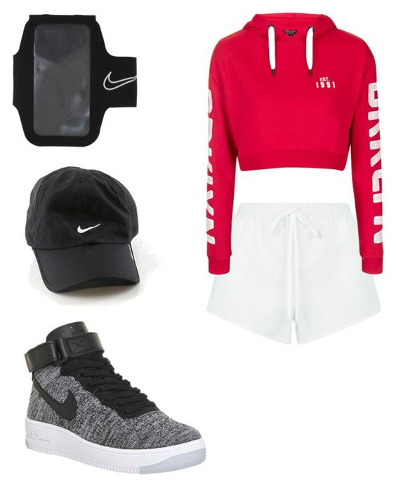 """Untitled #5"" by ashleekate-am on Polyvore featuring NIKE, Chloé and Topshop"