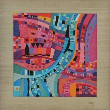 "Saatchi Art Artist Victoria Potrovitza; Drawing, ""Happy Landscape III"" #art"