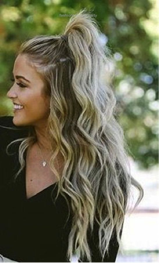 Whether You Re On The Beach With Friends Going On A Cute Date Or Working A Su Whe Party Hairstyles For Long Hair Thick Hair Styles Cute Hairstyles For Teens