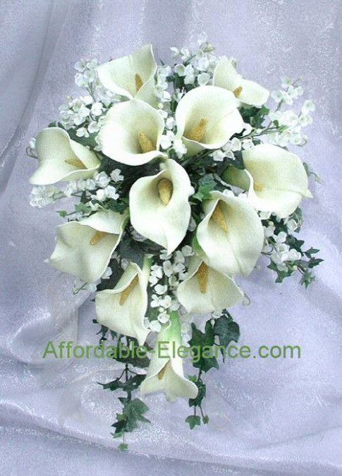 Wedding Bouquets Ivory Calla Lilies Lily Bouquet Wedding Calla