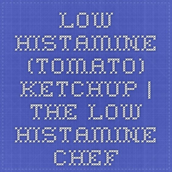 Low Histamine (tomato) Ketchup | THE LOW HISTAMINE CHEF