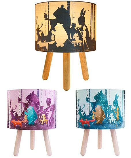 Wild imagination lamps for kids indie art and design - australian independent artists, designers + craftspeople