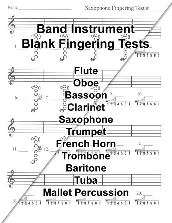 Beginning Band Worksheets Karibunicollies – Theory Worksheets for Beginning Bands