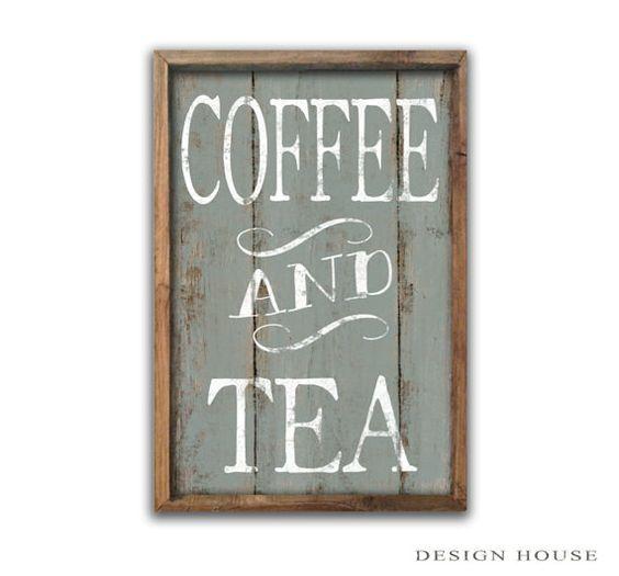 Caffè e tè segno segni caffè tè segni placche caffè cucina arredamento cucina muro mamma art café segni panetteria segni business segni festa della