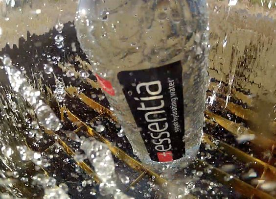 Refreshing Essentia Water!