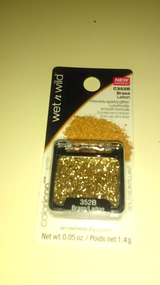 Wet n Wild Color Icon Intensely-Sparkly Glitter Single-Brass - 0.05 oz./1.4g, C3 #WetnWild