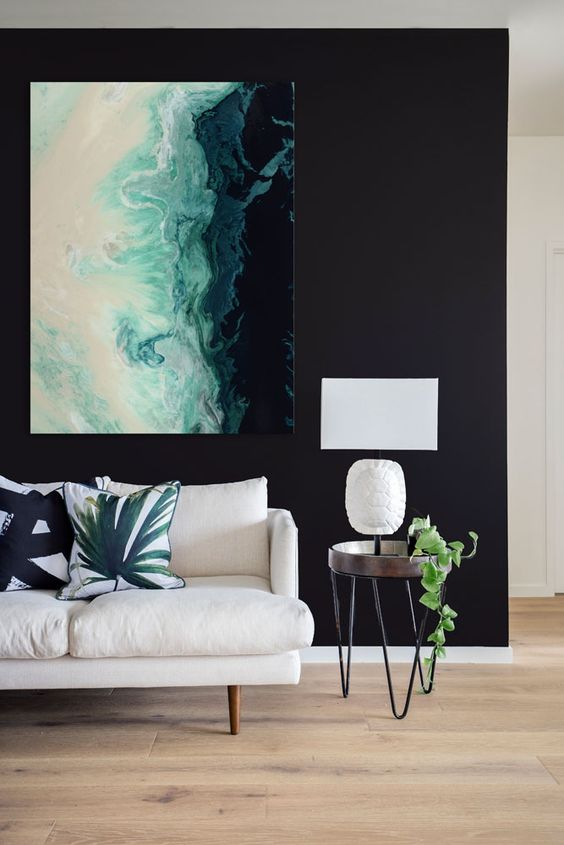 How to display a statement artwork - Making your HOME beautiful