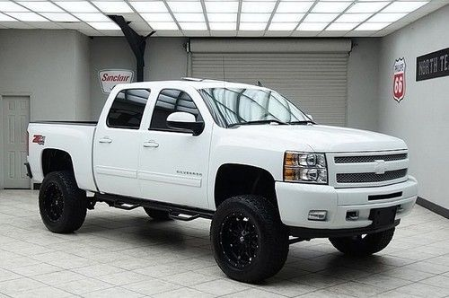 2011 White Chevy Silverado Lifted 1500 In 2016 Silverado Lt Z71