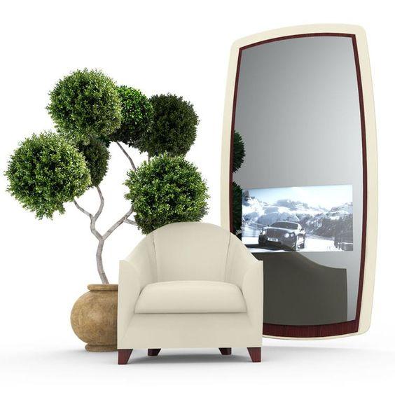 Stand-Spiegel / modern / rechteckig / 3D AUTOMOTIVE  Ox-Home