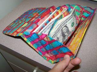 DIY coupon/money holder.