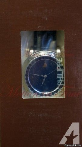 Patek Philippe Grand Complication Celestial Sky Moon with Date, Blue Dial - Platinum on Strap