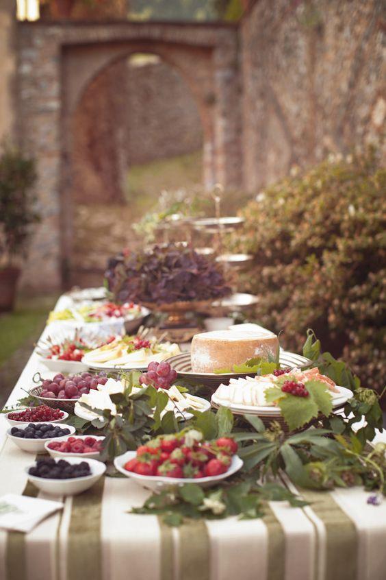 Romantic Italian Wedding/Style Me Pretty