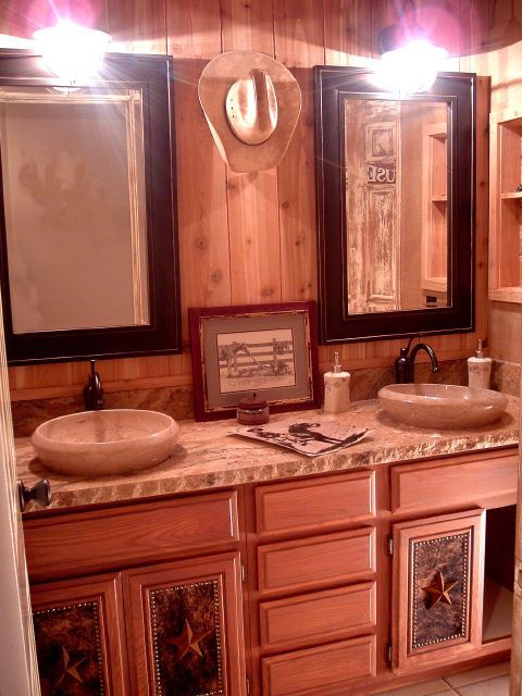 Western Cowboy What I Want To Do With Our Bathroom When We Buy Or Build A House For The Home