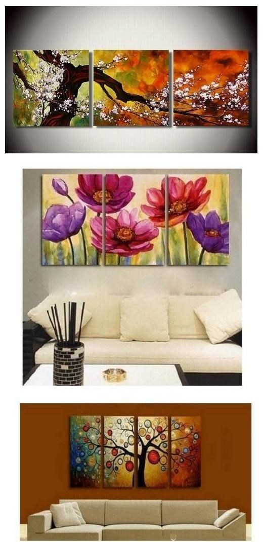 Pin On Flower Painting For Sale Floral Wall Art Buy Heavy Texture Wall Art Online painting for living room