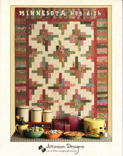 quilt Book Minnesota Hot Dish Quilt Book by by patchworkpassion1